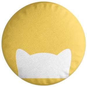 Cat Ears Round Cushion
