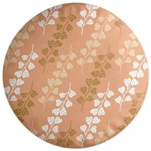 Flower Press Round Cushion