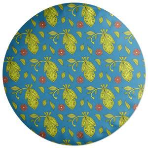 Retro Tropics Round Cushion
