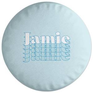 Jamie Round Cushion