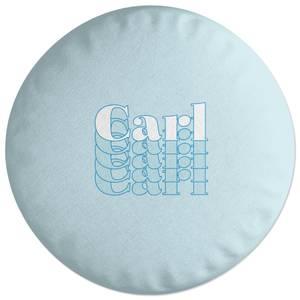 Carl Round Cushion