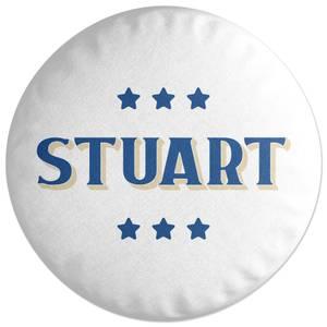 Stuart Round Cushion