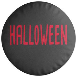 Halloween Round Cushion