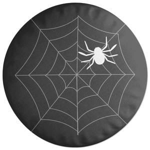Spider Web Large Round Cushion