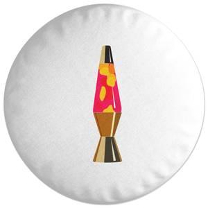Lava Lamp Round Cushion
