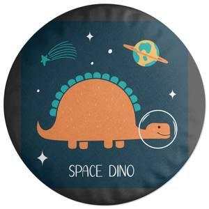 Space Dino Round Cushion