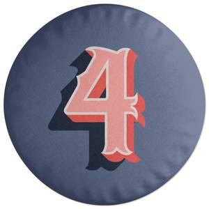 4 Round Cushion