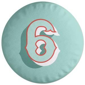 6 Round Cushion