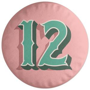 12 Round Cushion