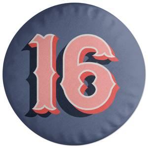 16 Round Cushion