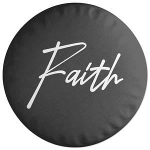 Faith Round Cushion