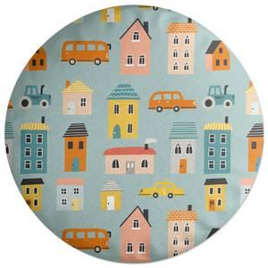 Little Village Round Cushion