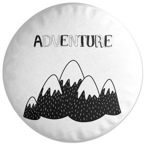 Adventure Round Cushion