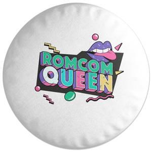 Romcom Queen Round Cushion