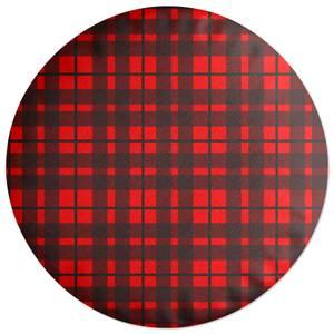 Tartan Round Cushion