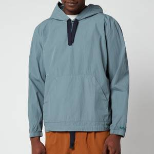 PS Paul Smith Men's Hooded Popover Shirt - Petrol Blue