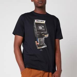 PS Paul Smith Men's Regular Fit Arcade T-Shirt - Dark Navy