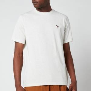 PS Paul Smith Men's Regular Fit Zebra Badge T-Shirt - Off White