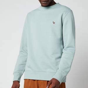 PS Paul Smith Men's Regular Fit Zebra Badge Sweatshirt - Light Grey