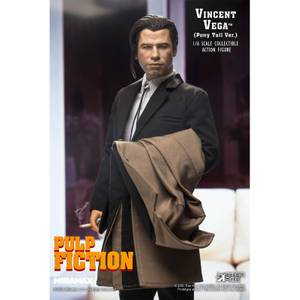 Star Ace Pulp Fiction My Favourite Movie Action Figure 1/6 Vincent Vega 2.0 (Pony Tail) 30 cm