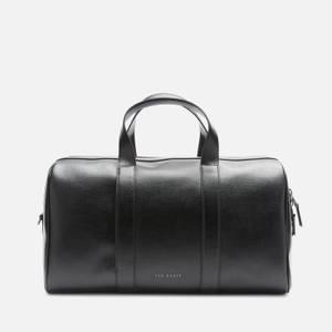 Ted Baker Men's Fidik Saffiano Leather Holdall Bag - Black