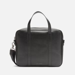 Ted Baker Men's Strath Saffiano Leather Document Bag - Black