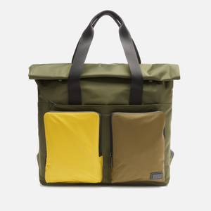 Ted Baker Men's Daintre Satin Nylon Backpack - Khaki