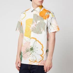 Ted Baker Men's Knittin Short Sleeve Shirt - White