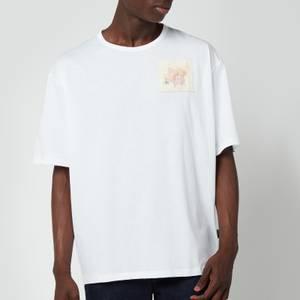 Ted Baker Men's Nofan Embroidered Logo T-Shirt - White