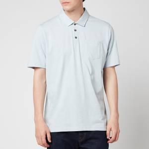 Ted Baker Men's Distanc Linen Polo Shirt - Light Grey
