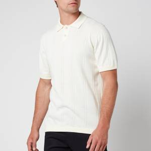 Ted Baker Men's Youfroz Textured Polo Shirt - White