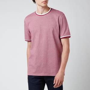 Ted Baker Men's Fresair Textured T-Shirt - Purple