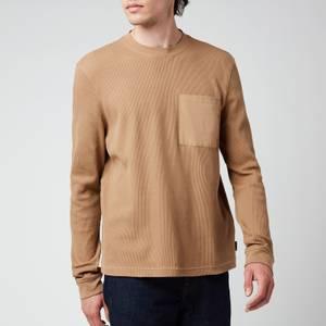 Ted Baker Men's Zaplan Long Sleeve Top - Brown