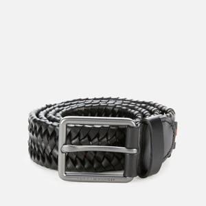 Tommy Hilfiger Men's Casual Essential Belt - Black