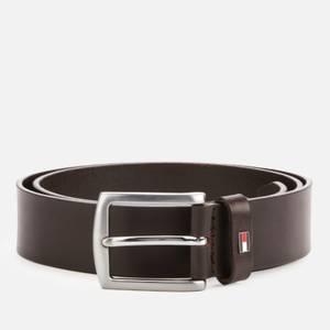 Tommy Hilfiger Men's Denton Leather Belt - Brown