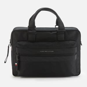 Tommy Hilfiger Men's Elevated Computer Bag - Black