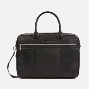 Tommy Hilfiger Men's Downtown Slim Computer Bag - Black