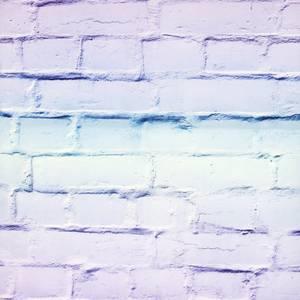 Arthouse Ombre Brick LilacMint Wallpaper