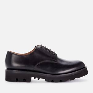 Grenson Men's Landon Leather Derby Shoes - Black