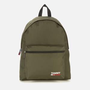 Tommy Jeans Men's Campus Backpack - Dark Olive