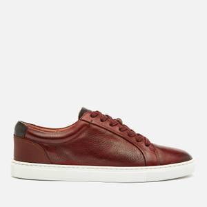 Ted Baker Men's Udamo Leather Cupsole Trainers - Light Brown