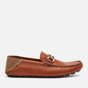 Ted Baker Men's Monnen Leather Driving Shoes - Brown