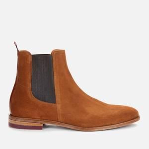 Ted Baker Men's Ficus Suede Chelsea Boots - Dark Tan