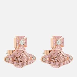 Vivienne Westwood Women's Beryl Bas Relief Earrings - Crystal Vintage Rose