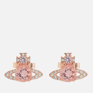 Vivienne Westwood Women's Ismene Earrings - Pink Gold Pink CZ White CZ