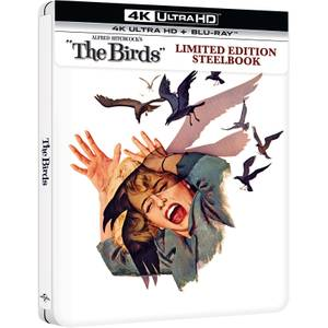 Die Vögel - Zavvi Exklusives 4K Ultra HD Limited Edition Steelbook (inkl. Blu-Ray)