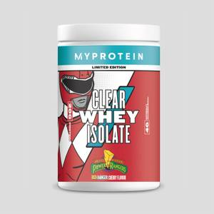 Clear Whey Isolate – Power Rangers