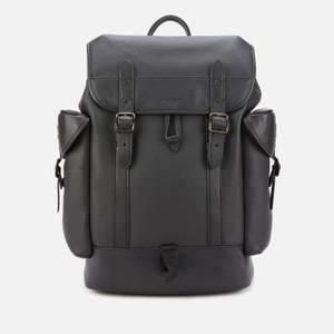 Coach Men's Hitch Backpack - Black