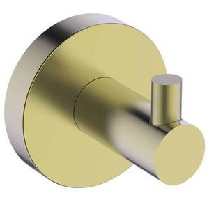 Aero Robe Hook - Brushed Brass
