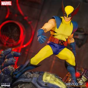Mezco One:12 Collective Wolverine Deluxe Steel Boxed Set